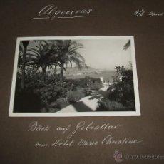 Fotografía antigua: ALGECIRAS CADIZ 4 FOTOGRAFIAS 1933 POR VIAJERO ALEMAN. Lote 46704693
