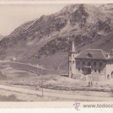 Fotografía antigua: ANTIGUA FOTOGRAFIA ORIGINAL ZERKOWITS VALLES DE ANEU LERIDA PUERTO DE LA BONAIGUA 2070 M. Lote 47198927