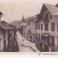 Fotografía antigua: ANTIGUA FOTOGRAFIA ORIGINAL ZERKOWITS ESTERRI DE ANEU CALLE MAYOR VALLES DE ANEU LERIDA. Lote 47199093
