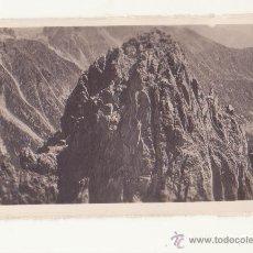 Fotografía antigua: ANTIGUA FOTOGRAFIA ORIGINAL ZERKOWITS ENCANTATS PICO ORIENTAL VALLES DE ANEU ESPOT LERIDA. Lote 47213673