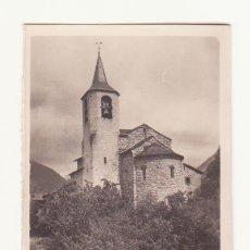 Fotografía antigua: ANTIGUA FOTOGRAFIA ORIGINAL ZERKOWITS IGLESIA VALENCIA DE ANEU VALLES DE ANEU LERIDA. Lote 47213696