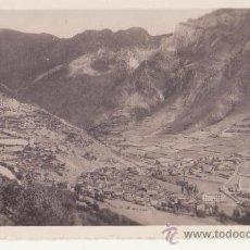 Fotografía antigua: ANTIGUA FOTOGRAFIA ORIGINAL ZERKOWITS VISTA PUEBLO ESPOT 1300 METROS VALLES DE ANEU LERIDA. Lote 47213749