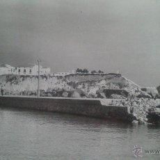 Fotografía antigua: BENIDORM (ALICANTE) FOTOGRAFIA ORIGINAL VISTA DE LA REPARACION DEL DIQUE, 19,09,1957. Lote 47301464
