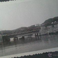 Fotografía antigua: PEQUEÑA FOTOGRAFIA DE MAHON (MENORCA) AÑOS 50 (VER FOTO ADICIONAL). Lote 47306801
