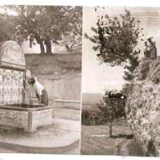 Fotografia antiga: MACASTRE (VALENCIA): 2 FOTOS DE 1954. Lote 47495405
