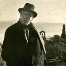Fotografía antigua: FOTOGRAFÍA DE JOSÉ MARÍA SERT. INSIGNE PINTOR. SIN AUTORÍA. C. 1945. Lote 47803832