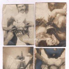 Fotografía antigua: MEDICINA, OPERACIÓN GINECOLÓGICA, 1900'S. BARCELONA, 4 FOTOGRAFÍAS, CON DATOS DEL NOMBRE DEL DOCTOR. Lote 47941424