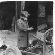 Fotografía antigua: FOTO 13 X 18 ENCANTS DE BARCELONA 1963, IMPRESA EN PAPEL FOTOGRÁFICO NEGTOR. Lote 48244672