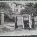 Fotografía antigua: FOTOGRAFIA MALAGA, TRANVIA ACCIDENTADO POR INUNDACION CERCA PASEO DEL LIMONAR. FOTO RACOR. MALAGA. Lote 48575991