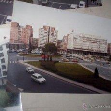 Fotografía antigua - lote 4 fotos burgos avenida paz circulo castilla ejercito fuerzas armadas monumento 1978 - 48738705