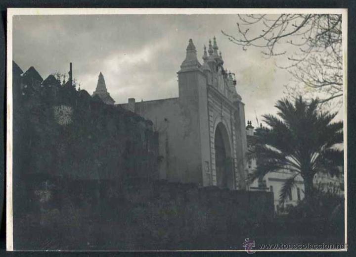 IBIZA. CONSTRUCCIONES. C. 1955 (Fotografía Antigua - Gelatinobromuro)