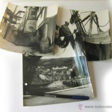 Fotografía antigua: 3 FOTOGRAFIAS DE ASTURIAS OVIEDO CUDILLERO. Lote 49520290