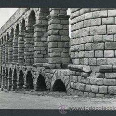 Fotografía antigua: SEGOVIA. ACUEDUCTO ROMANO. PRECIOSA PARCIAL - 4. 21/8/1958. Lote 49675541