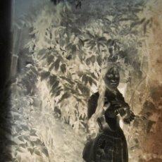 Fotografía antigua: NEGATIVO FOTOGRÁFICO DE CRISTAL, (GELATINA-BROMURO DE PLATA).FINALES DEL SIGLO XIX.D:13X18.CON COPIA. Lote 49748010