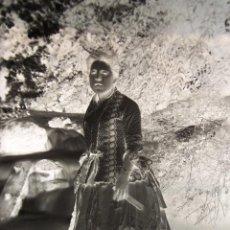 Fotografía antigua: NEGATIVO FOTOGRÁFICO DE CRISTAL, (GELATINA-BROMURO DE PLATA).FINALES DEL SIGLO XIX.D:13X18.CON COPIA. Lote 49748463