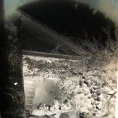 Fotografía antigua: NEGATIVO FOTOGRÁFICO DE CRISTAL, (GELATINA-BROMURO DE PLATA).FINALES DEL SIGLO XIX.D:13X18.CON COPIA. Lote 49749336