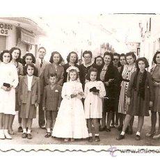 Fotografía antigua: FOTÓGRAFO DE ALICANTE. 1945. Lote 57869304
