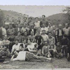 Fotografía antigua: F-416. FOTOGRAFIA DE GRUPO. FINAL AÑOS CUARENTA. BARCELONA.. Lote 49983744