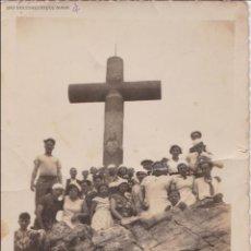 Fotografía antigua: F-477. FOTOGRAFIA DE GRUPO EXCURSION MONTAÑA. FRANCIA. AÑOS TREINTA.. Lote 50131342