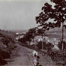 Fotografía antigua: MONTCADA I REIXAC. PRECIOSA VISTA DEL PUEBLO. C. 1910. Lote 50140263