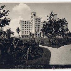 Fotografía antigua: HABANA. CUBA. SECRETARIA OBRAS PÚBLICAS. 1930. GRAN HOTEL NACIONAL. ORIGINAL . Lote 50157536