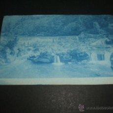 Fotografía antigua: CANGAS DE ONIS ASTURIAS ANTIGUA CIANOTIPIA PAISAJE RIO. Lote 50319832