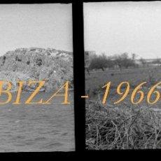 Fotografía antigua: IBIZA - 1966 - 4 NEGATIVOS DE CELULOIDE. Lote 51025219