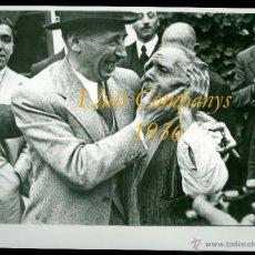 Fotografía antigua: LLUÍS COMPANYS - 1936 - FOTOGRAFIA AGUSTÍ CENTELLES. Lote 52124443