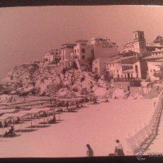 Fotografía antigua: FOTOGRAFIA ORIG TAMAÑO POSTAL BENIDORM (ALICANTE) SE PUEDE LEER HOTEL PLANESIA, SIN SELLO FOTOGRAFO. Lote 52328634