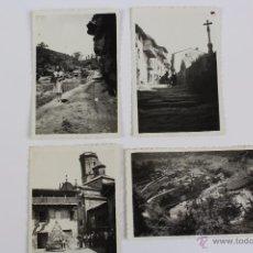 Fotografía antigua: F-1325. RUPIT (BARCELONA). CUATRO FOTOGRAFIAS VISITA AÑO 1941.. Lote 52390925