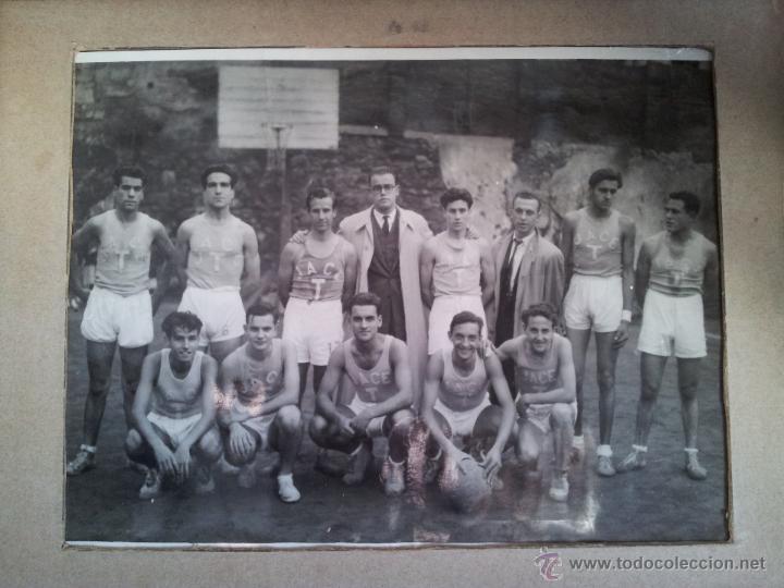 Fotografía antigua: ANTIGUA FOTOGRAFIA EQUIPO FUTBOL AÑOS 30 JACE ...JUVENTUD ACCION CATOLICA ESPAÑA...BARCELONA - Foto 6 - 52558519