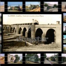 Fotografía antigua: MAGNIFICO MONTAJE FOTOGRAFICO DE LA PANDEROLA POR VILLARREAL CASTELLON, IDEAL PARA DECORACIÓN. Lote 52675023
