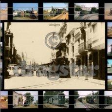 Fotografía antigua: MAGNIFICO MONTAJE FOTOGRAFICO DE LA PANDEROLA EN ALMAZORA CASTELLON, IDEAL PARA DECORACIÓN. Lote 52675207