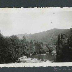 Fotografía antigua: INTERESANTE FOTOGRAFÍA. PAISAJE. RÍO SEGRE. MARTINET. 1943. Lote 53118824
