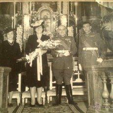 Fotografía antigua - BODA DE MILITAR, MILITAR CONDECORACIONES, MADRID AÑO 1943 - 53374048