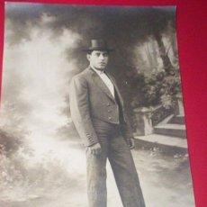 Fotografía antigua: FOTO ORIGINAL TORERO TOROS - AÑOS 20 - ALFONSO CELA CELITA LUGO. Lote 53376607