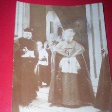 Fotografía antigua: FOTO ORIGINAL OBISPO PLASENCIA CACERES FRANCISCO JARRIN Y MORO 1913. Lote 53376808
