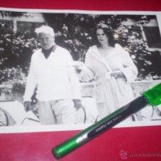 Fotografía antigua: FOTO ORIGINAL AÑO 1959 CHARLIE CHAPLIN EN MALLORCA VACACIONES CINE ACTOR CHARLOT. Lote 53377472