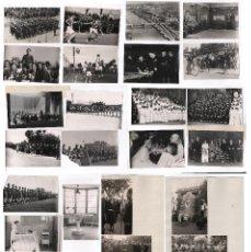 Fotografía antigua: ACTIVIDADES DE LA FALANGE, BARCELONA 1938-44. LOTE DE 50 FOTOGRAFÍAS DE PÉREZ DE ROZAS Y P. MOLINOS.. Lote 53449900