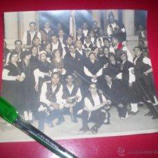 Fotografía antigua: FOTO ORIGINAL COROS ROSALIA DE CASTRO EN EL LAR GALLEGO RETIRO MADRID AÑOS 20 - FOTO PIO GALICIA. Lote 53456450