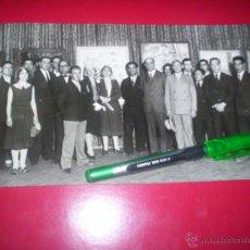 Fotografía antigua: FOTO ORIGINAL EXPOSICION PINTOR RICARDO AGUERRE CIRCULO BELLAS ARTES MADRID URUGUAY ARGENTINA 20S. Lote 53456698