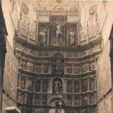 Fotografia antiga: RETABLO DE LA CAPILLA MAYOR DE LA CATEDRAL DE PALENCIA. FOTO: R. ALONSO. Lote 53485759