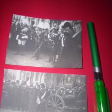 Fotografía antigua: FOTO ORIGINAL ACTO REY ALFONSO XIII AUTORIDADES MILITARES MINISTERIO FOMENTO ATOCHA MADRID . Lote 53557906
