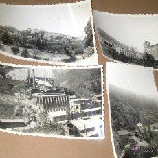 Fotografía antigua: CUATRO FOTOGRAFIAS DE CASTELLAR DE NUC, BARCELONA AÑO 1957. Lote 53951647