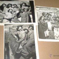 Fotografía antigua: FOTOGRAFO MINUTERO DE VERBENA DE SAN ISIDRO AÑO 1943. MADRID, GENTE FOTOGRAFIADA DE CIEZA, MURCIA. Lote 53953156