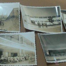 Fotografía antigua: CINCO FOTOGRAFIAS, 4 UNIVERSIDAD LABORAL DE TARRAGONA, UNA PALACIO EPISCOPAL. Lote 53961872