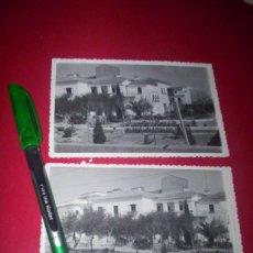 Fotografía antigua: 3 FOTOS HOTEL EXTREMADURA CACERES DESAPARECIDO FOT. JAVIER 1940-50. Lote 54065402