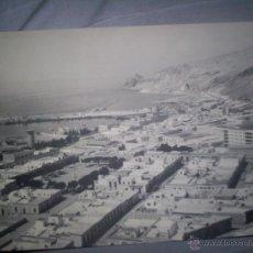 Fotografía antigua: LOTE DOS FOTOS ALMERIA C.1930-40 VISTAS GENERALES 24 X18 CM.. Lote 46435791