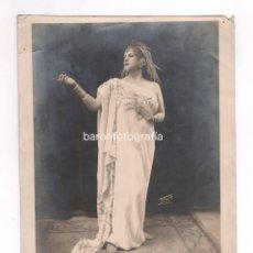 Fotografía antigua: RETRATO DE ARTISTA, 1920'S. FOTO: TORT, FIGUERES. 20X25 CM.. Lote 54183476