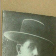 Fotografía antigua: FOTOGRAFIA DEL TORERO VALENCIANO MANUEL GRANERO, VALENCIA. MEDIDAS. 10,5 X 7,5 CM. Lote 54207293